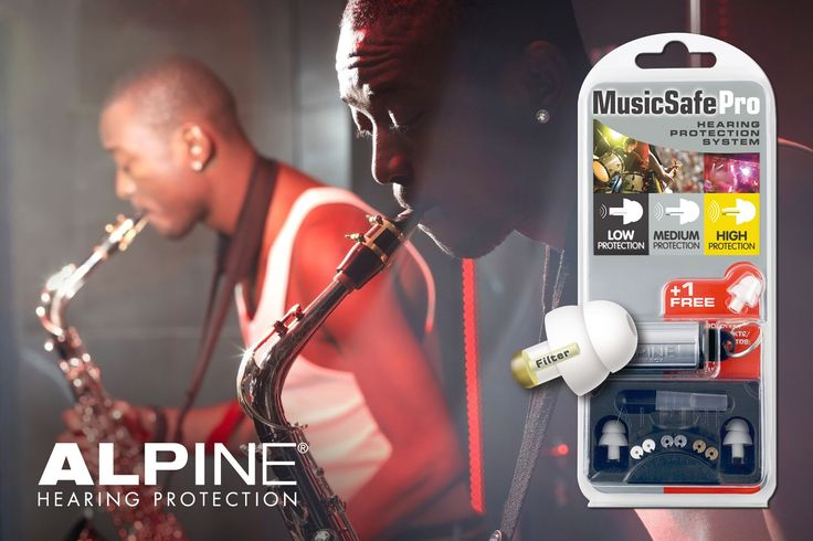 Alpine MusicSafe Pro - Unique Hearing Protectors for Musicians