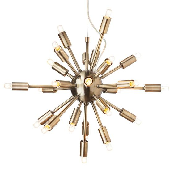24-Arm Sputnik Chandelier