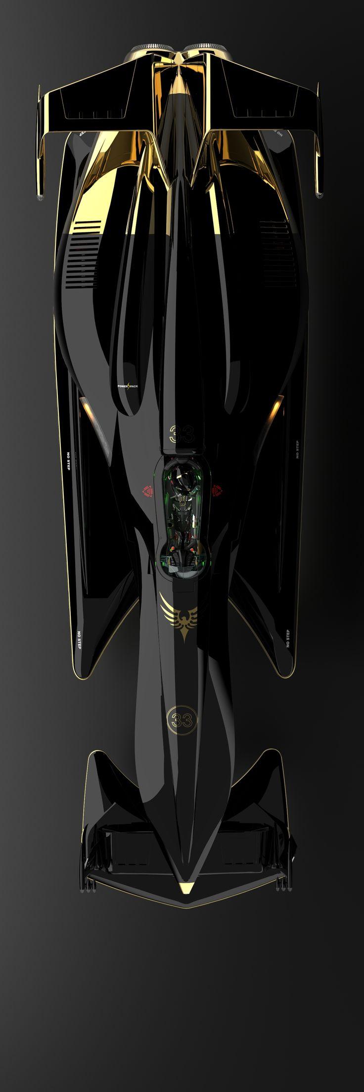 Tommy Thorn Racer concepto. por Row Zero - Simon Williamson→