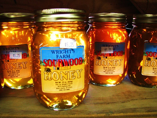 Sourwood Honey - My favorite local rare honey in the Southeast USA!