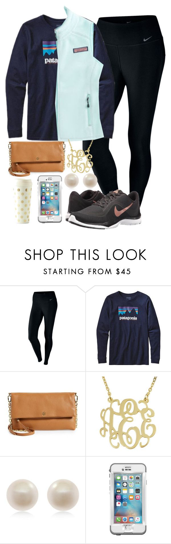 """""""I may have to work during Thanksgiving dinner but I can still shop Black Friday"""" by carolinaprep137 ❤ liked on Polyvore featuring NIKE, Patagonia, Vineyard Vines, Tory Burch, Links of London, LifeProof and Kate Spade"""
