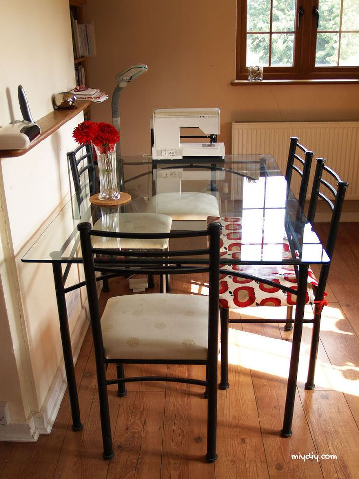best 25 glass table redo ideas on pinterest coffee. Black Bedroom Furniture Sets. Home Design Ideas