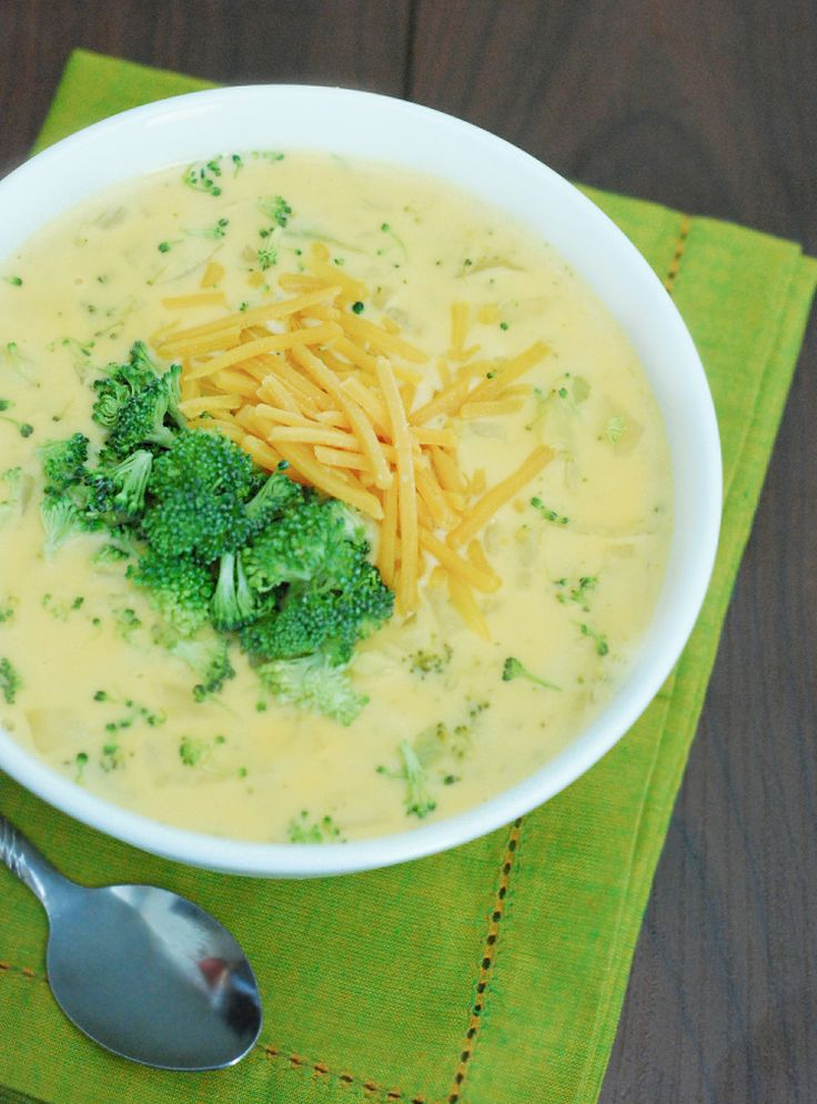 WINNER: 4c broccoli, 3c cheddar and on-hand ingredients. Fast, easy and delicious.