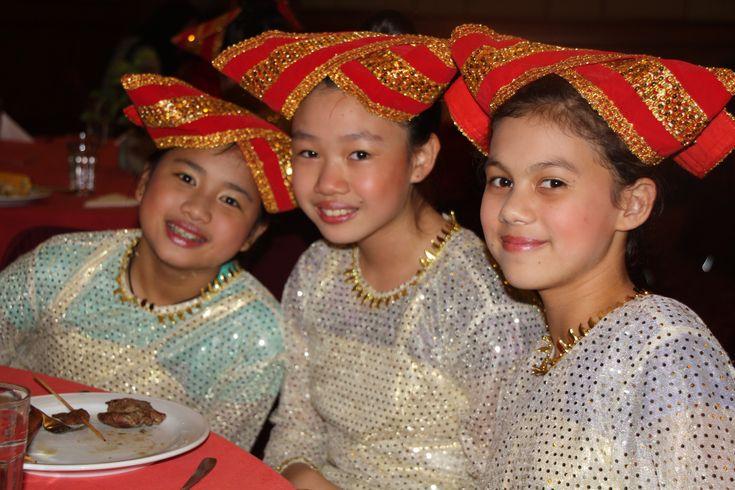 Balinese costume - Trip to Bogor