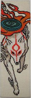 Okami bookmark - Sprite Stitch Wiki