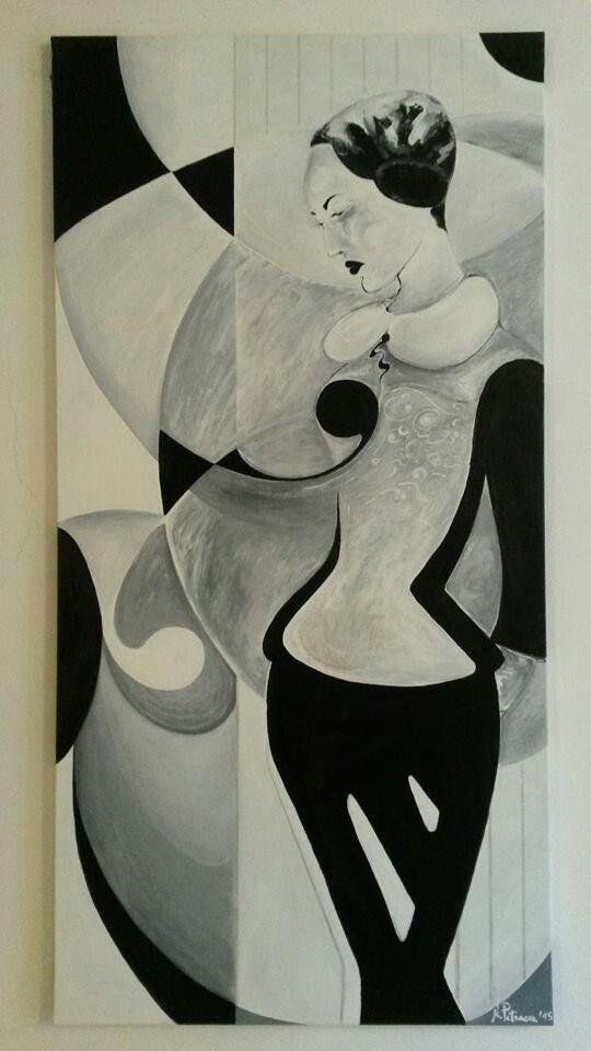 Regina di fiori (60×120)