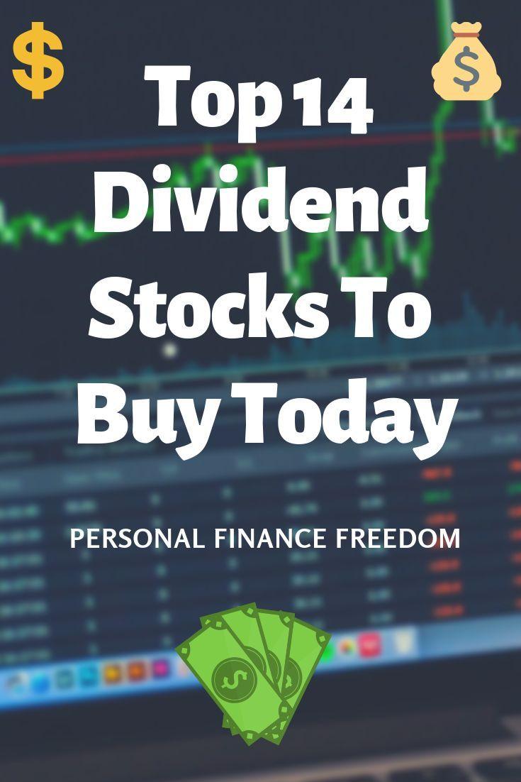 Top 14 Dividend Stocks to Buy! | Dividend stocks ...