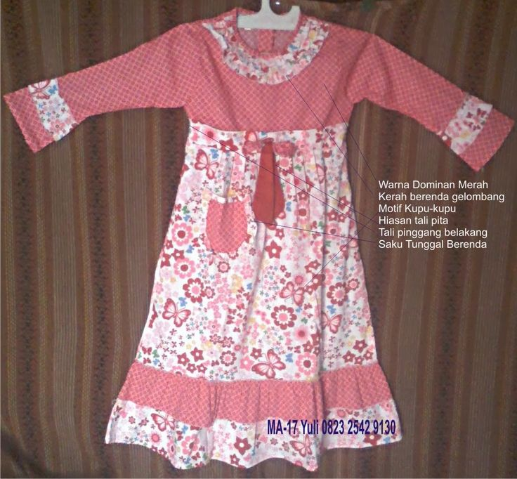 Jual Grosir Baju Muslim: Baju Muslim Anak Kreatif MA-17