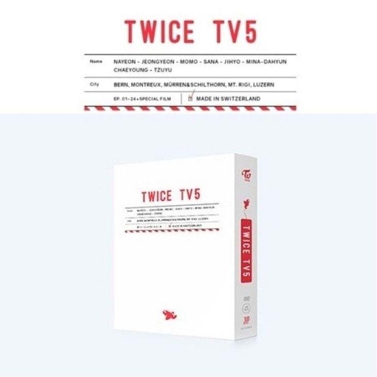 [TWICE TV5] : Twice In Switzerland DVD Sealed New DVD+Photobook(80p)+Postcard