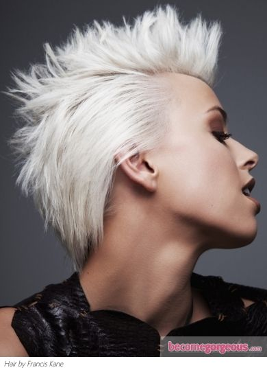 edgy haircuts 28 best platinum pixie images on hair cut 4350