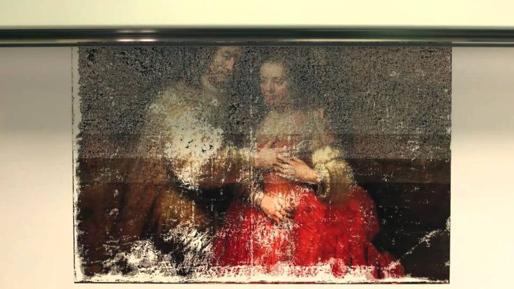 The wave of the future.  A Rembrandt is scanned in 3D, then printed with a 3D pr…