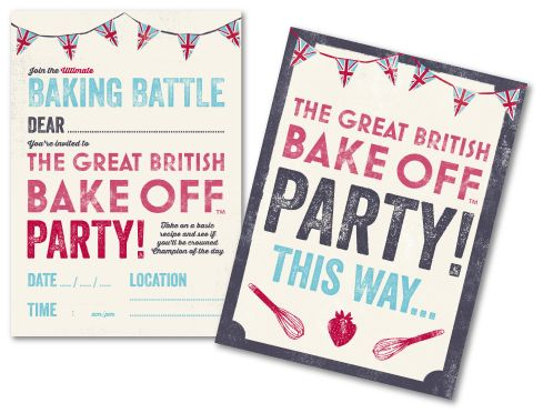 The Great British Bake Off is giving away free print outs! Click through to find their webpage in which you can simple just download these fantastic Bake Off invitations, bunting, door signs, party instructions, a recipe card, name labels, voting cards AND certificates. WOW! Get your printer on and start planning that Bake Off party! #baking #bakeoff