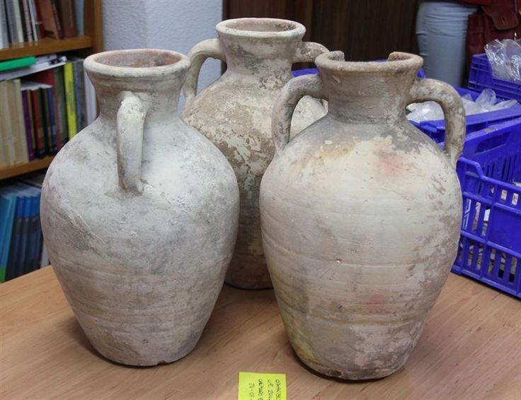 Troballa de ceràmiques a Paterna (23/05/2014)