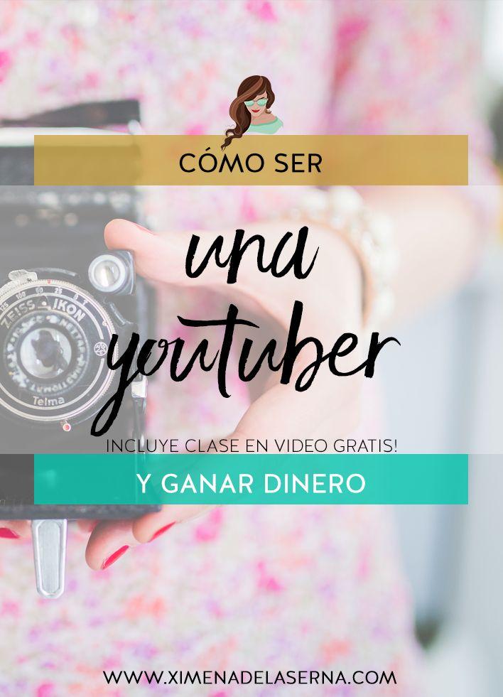 Cómo hacer dinero con Youtube - Ep.1 Serie Youtube + Clase en vídeo GRATIS http://ximenadelaserna.com/emprender/como-hacer-dinero-con-youtube/