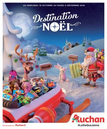 Auchan France Noël 2016