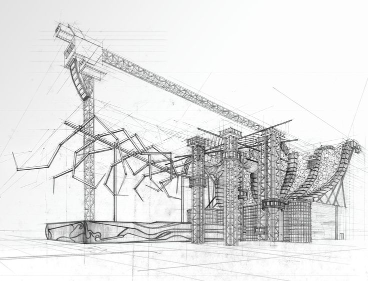 Best Architecture Drawings Images On Pinterest