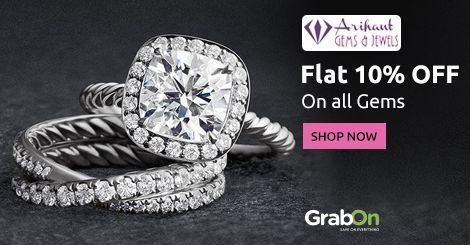 Welcome New Year With Precious Gems & #Jewelry. #ArihantGems Offers Flat 10% Off