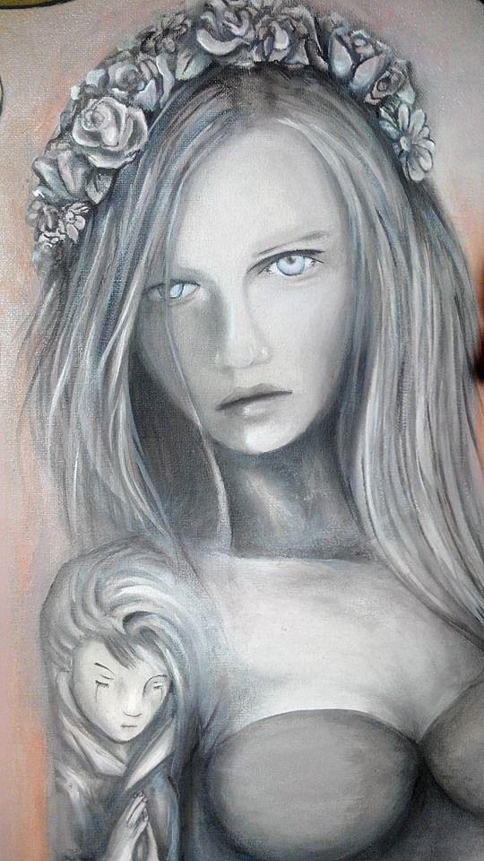 Layla/ canvas/ oil paint