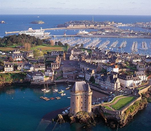 St Malo - discover on one of our self-guided bicycle adventures http://www.the-carter-company.com/where/france/cycling-holidays/