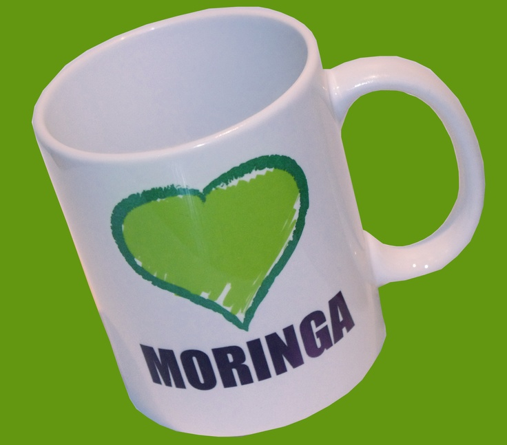I love Moringa mug by The MoringaMutual Trust