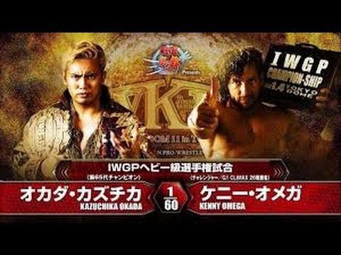 [NJPW] Okada v Omega  WRESTLE KINGDOM 11 full match ..