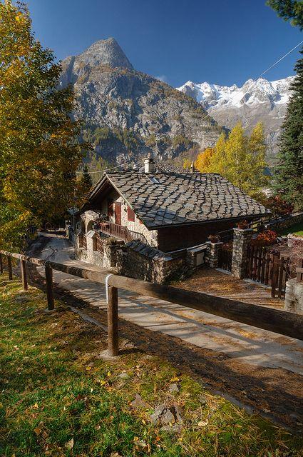 Courmayeur  Valle jordan d     Aosta original