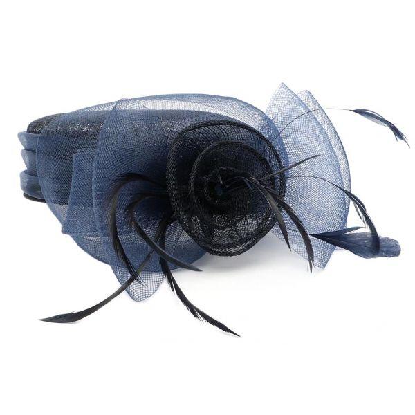 Chapeau Mariage Marine en paille sisal Mure #chapeaumariage #mariage #mode #bonplan #look sur Hatshowroom.com