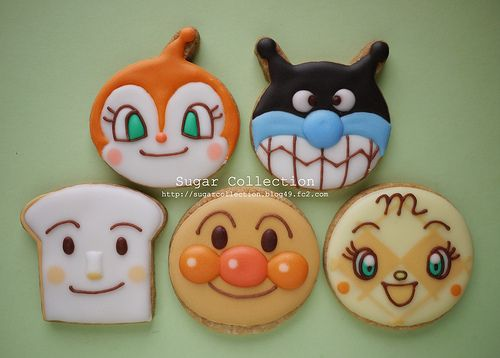 anpanman by JILL's Sugar Collection, via Flickr