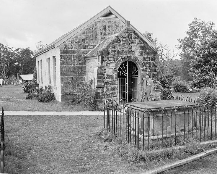 The Presbyterian Church at Ebenezer in 1951.