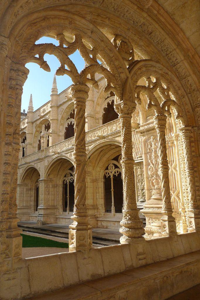 Monasterio Jerónimos XVI siglo Construcción en Lisboa - Portugal