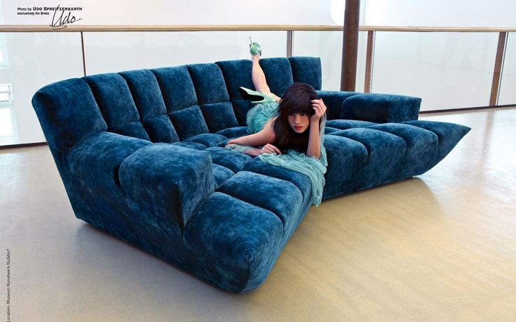 Cloud 7 Sofa (z154): A sectional shimmering silver velvet sofa ...