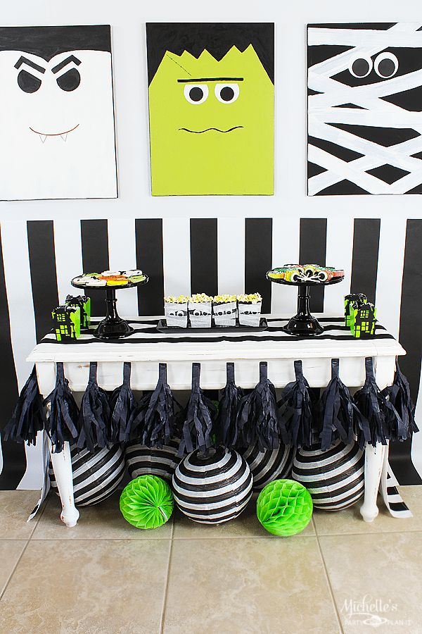 Monster Mash Party Ideas with Target Kid, Monsters and The o\u0027jays - halloween party decorations diy