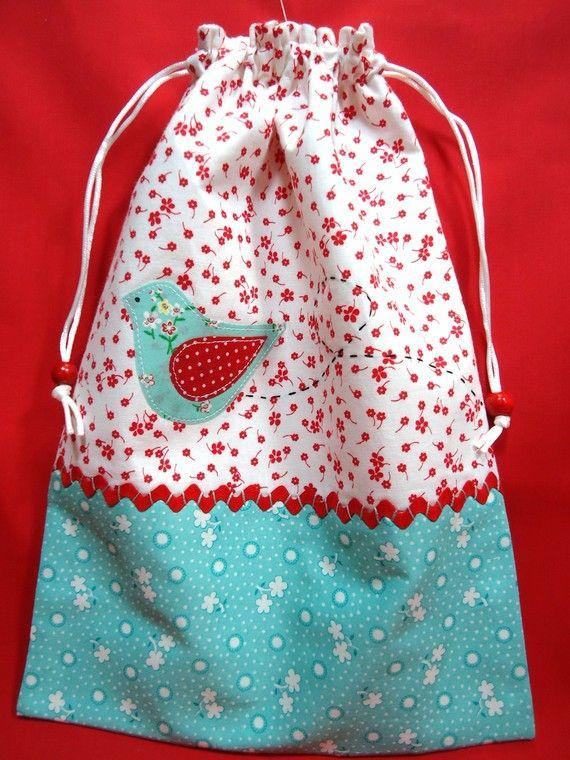 Drawstring  Bag, so many uses