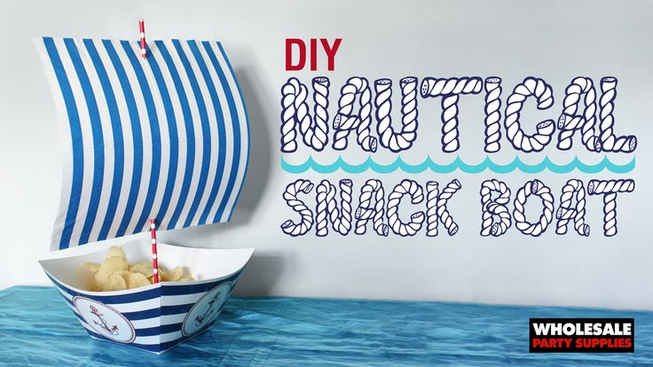 Nautical Boat Snack How-To