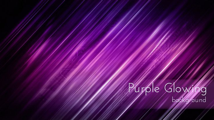 Purple Glowing Lines Techno Looping Backdrop