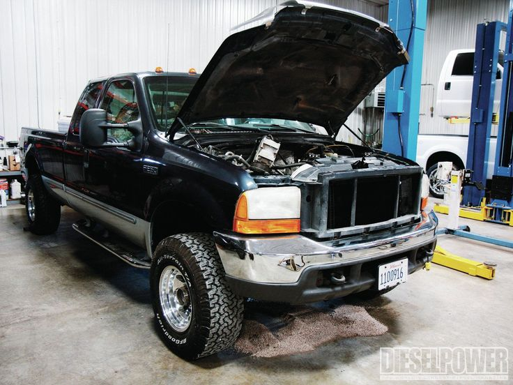 Find out how you can get 400 hp on the cheap as we double the power of our 1999 Ford F-250 7.3L Power Stroke. See how a Garrett turbo, DieselSite Adrenaline HPOP, and Diesel Performance injectors increase our Ford's power!