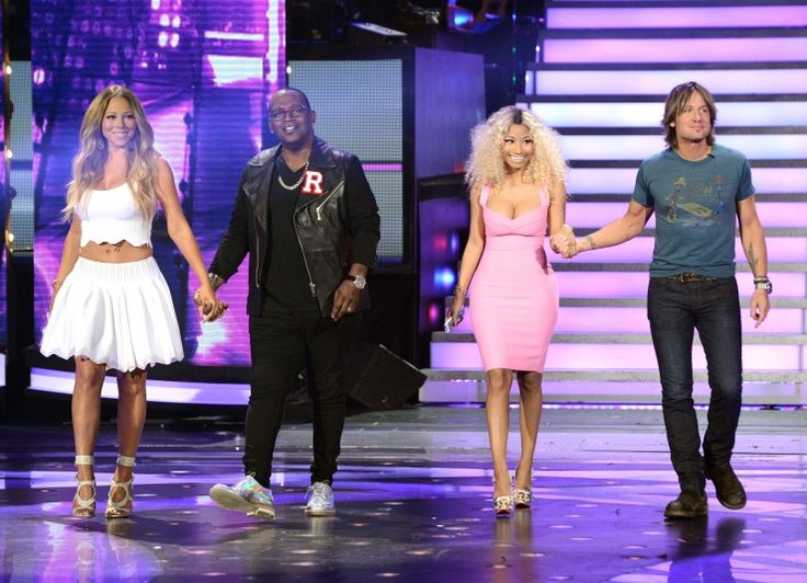 Mariah Carey, Randy Jackson, Nicki Minaj, And Keith Urban | GRAMMY.com: Photos, Judges, Idol 2013, American Idol