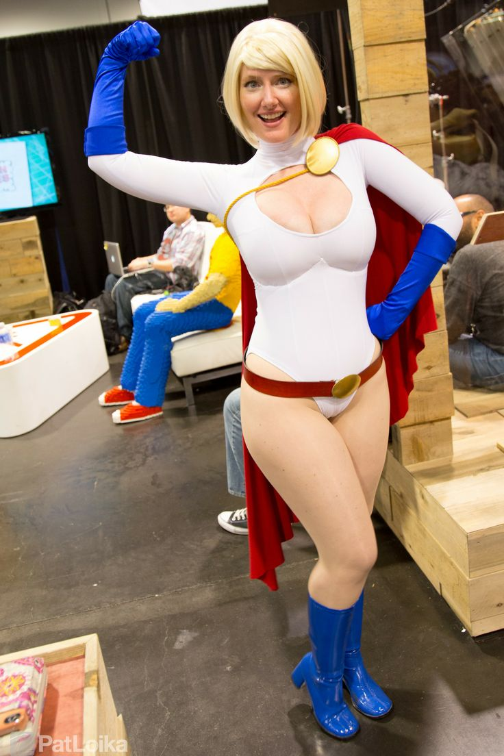 Porn power girl cosplay-8587