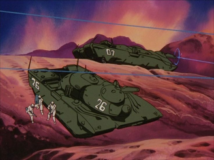 Legend of the Galactic Heroes.   Alliance battle tank.
