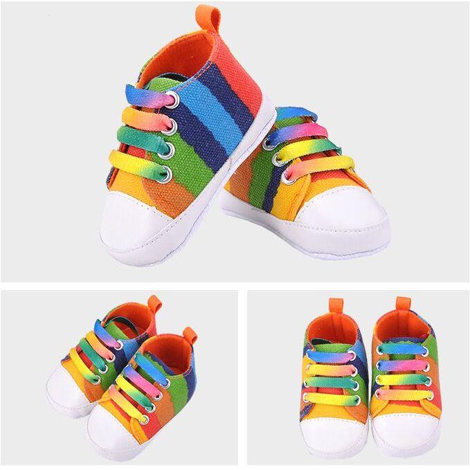 Encontrar Más Zapatillas de Atletismo Información acerca de Moda Casual zapatos de la raya bebé, niños bebés primer Walker zapatos de bebé Girls Toddler traje para 0   18 M, alta calidad zapatos mizuno, China zapatos retro Proveedores, barato traje de la oficina de BabyMarket en Aliexpress.com