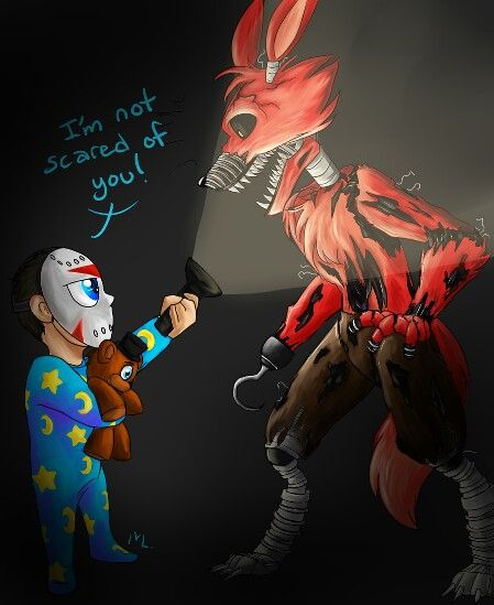 Awesome FNAF 4 fanart for H2ODelirious, made by MarcySnOwy on Twitter!!!=)