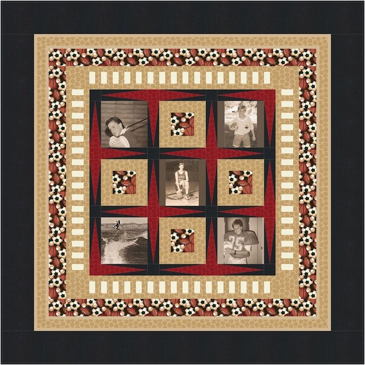 Ideas For Quilting : 1000+ images about photo memory quilts on Pinterest Custom quilts, Graduation and Fabrics