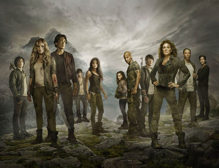 THE 100 Season 2 Cast Photo