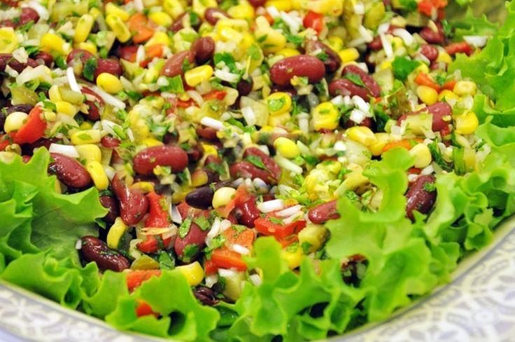 Soya Filizli Meksika Salatası | Oktay Ustam | Yemek Tarifleri | Pasta Tarifleri
