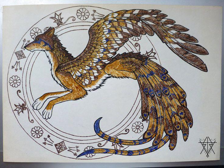 11 best my style images on pinterest mythological for Huma bird tattoo