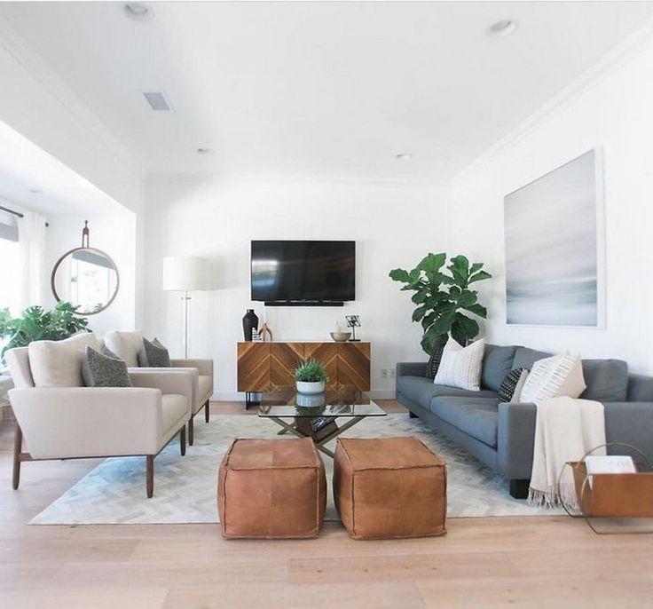 53+ Stunning Vintage Mid Century Living Room Decor Ideas