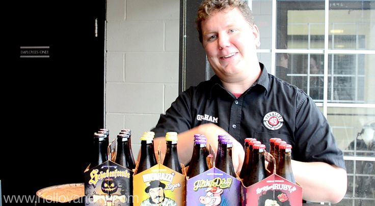 Brewmaster Graham With of Parallel 49 Brewing