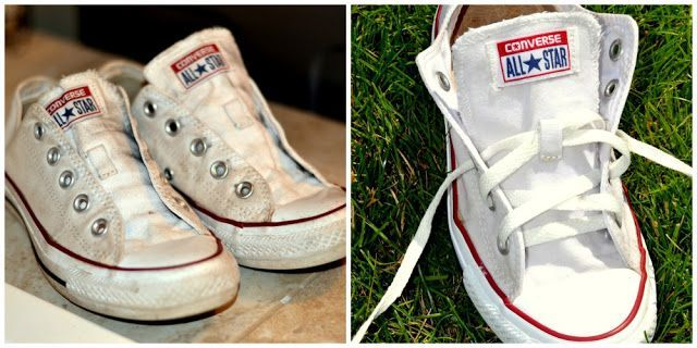 White Converse {or Canvas} Shoes