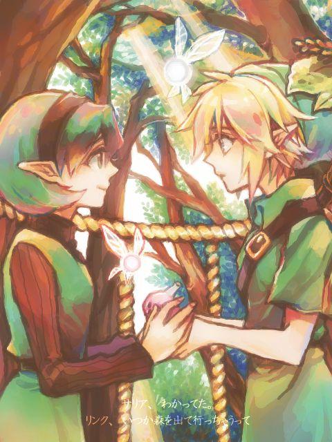 Link & Saria