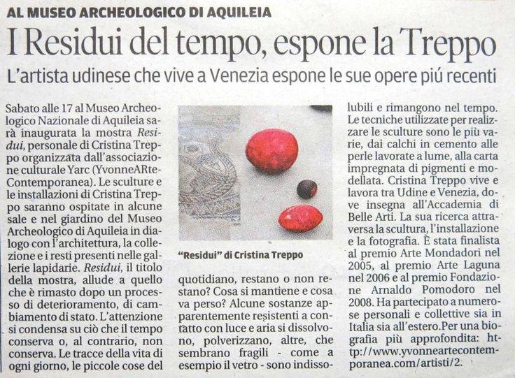 Residui, Il Messaggero 26 settembre 2013